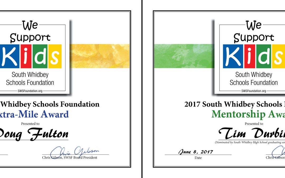 Fulton and Durbin Receive 2017 SWSF Teaching Excellence Awards