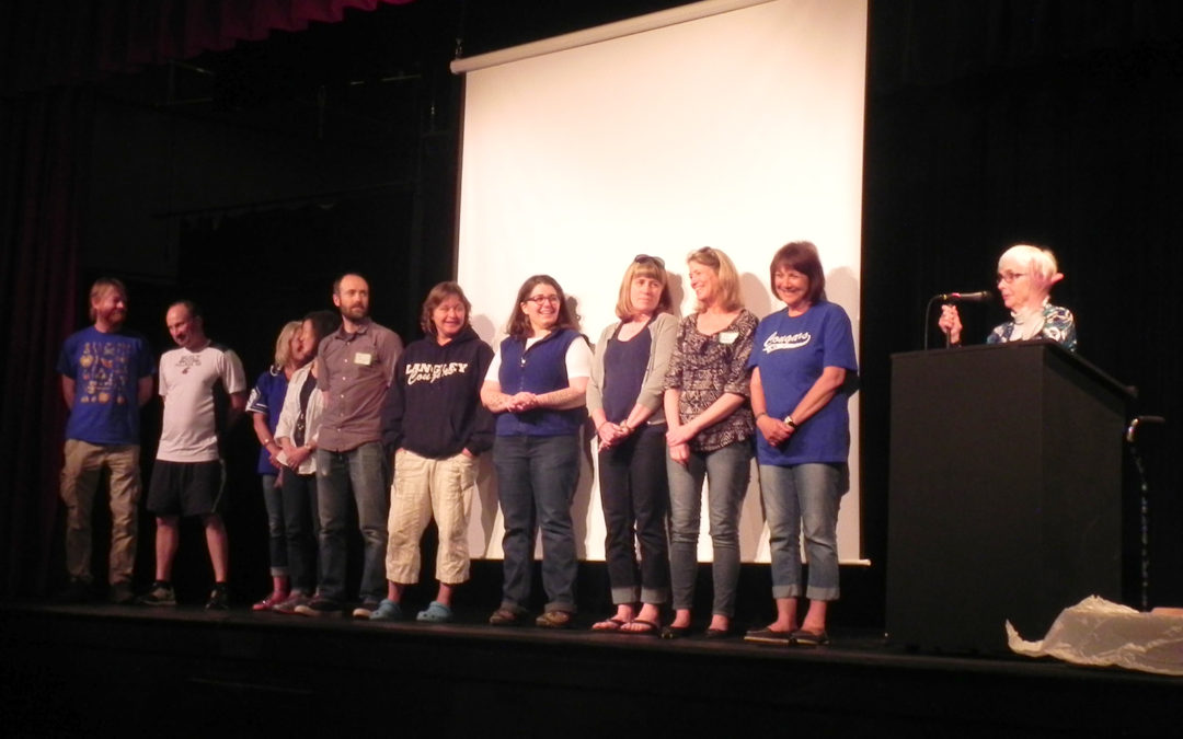 LMS Teachers Receive $200 Checks from SWSF To Help Set Up New Classrooms