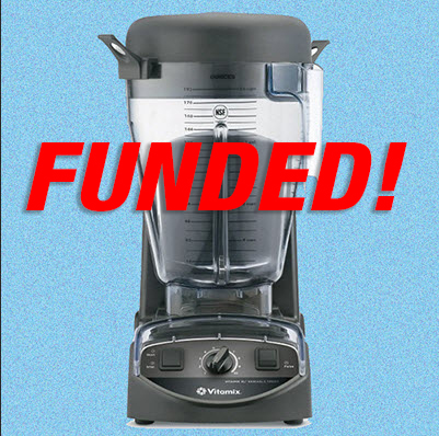 Vitamix XL Request by Food Service Advisory Team